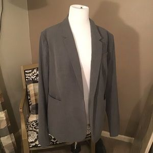Plus size blazer from The Limited
